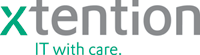 x-tention – IT with care._logo